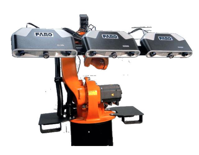 FARO Factory Robo-Imager. Escáner Láser 3D Robot - Colombia